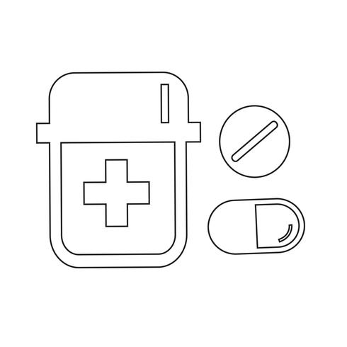 medicine icon  symbol sign