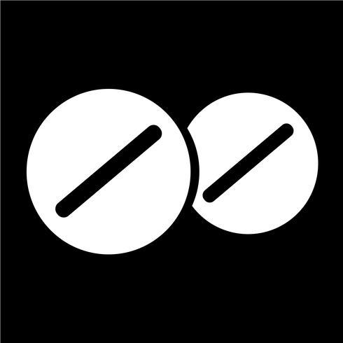 segno di simbolo dell'icona della medicina
