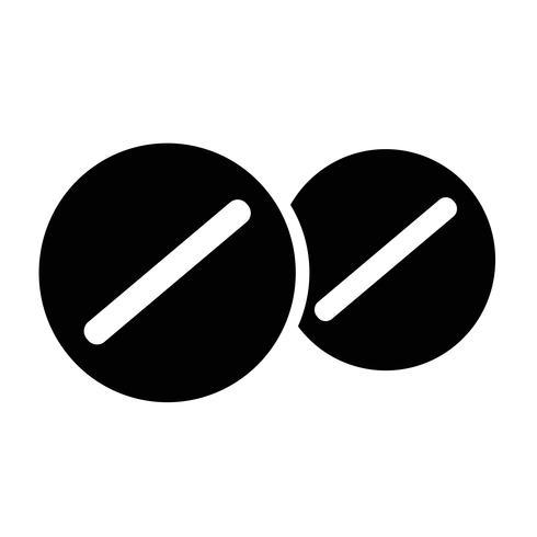 medicin ikon symbol tecken