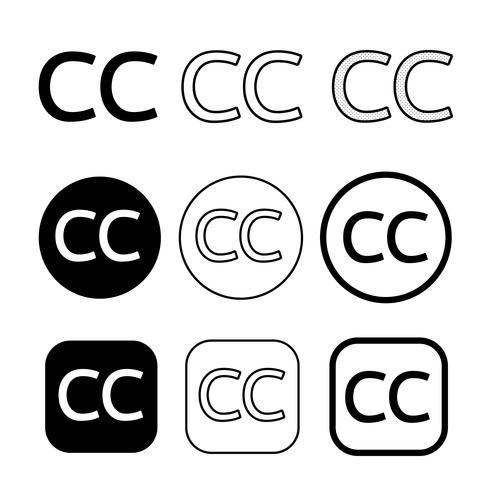 Creative commons icon symbol sign