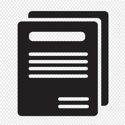 Book icon  symbol sign vector