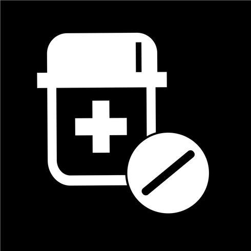 icono de medicina símbolo signo