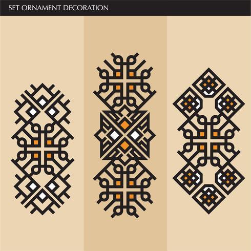 Luxury  Japanese, calligraphic, Aztec elegant ornament lines