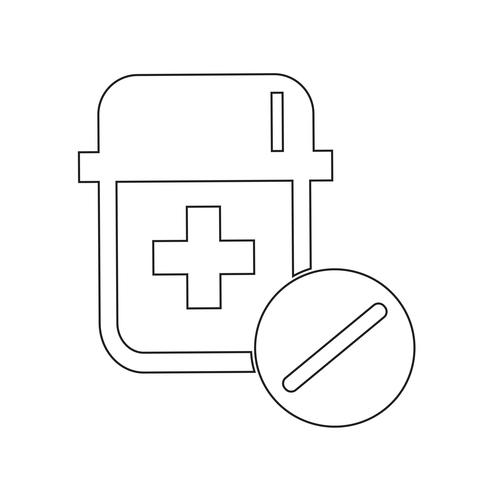 médecine symbole symbole signe
