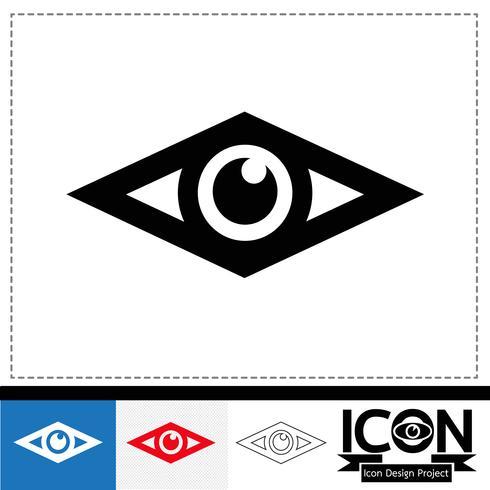 ögonsymbolsymbols tecken