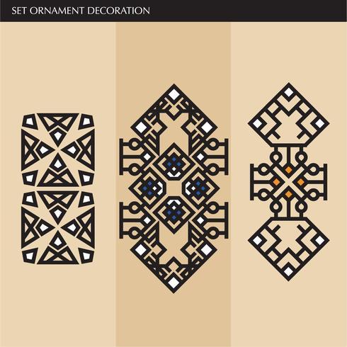 Luxo japonês, caligráfico, linhas de ornamento elegante asteca