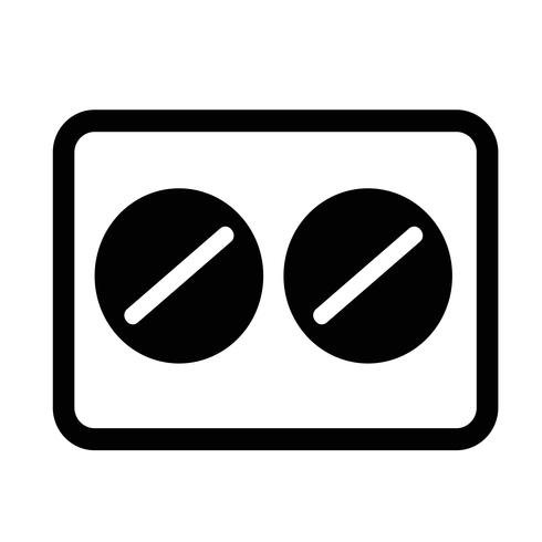 símbolo de ícone de medicina