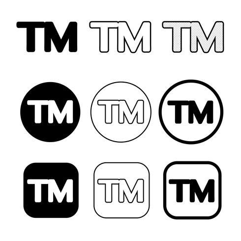 Trade Mark icon symbol sign