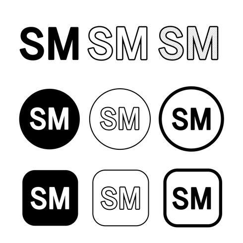 Service Mark icon symbol sign