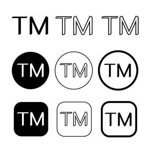 Signo de símbolo de icono de marca