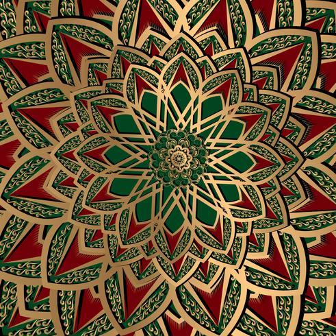 pattern arabesque background vector