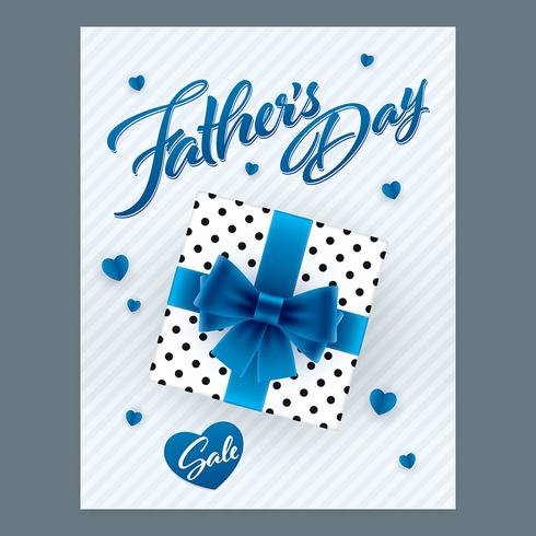 Fathers Day sale vertical banner