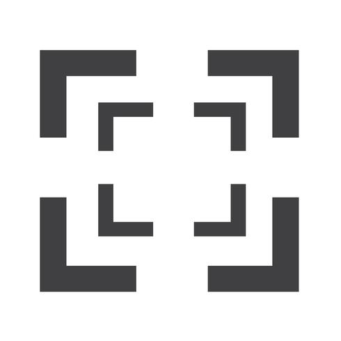 focus icône signe illustration