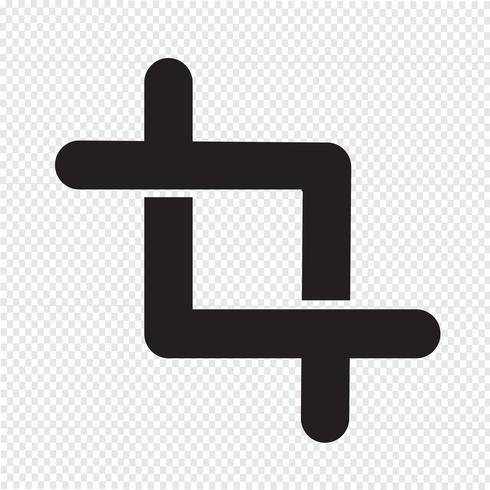Gewas pictogram teken illustratie vector