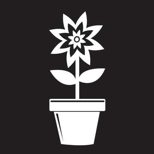 blomkruka ikon