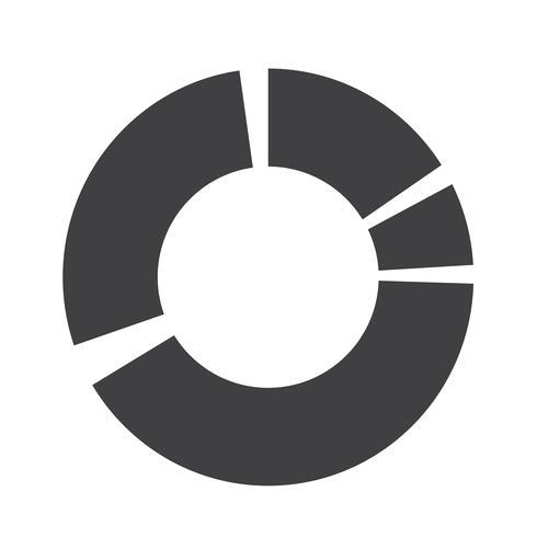 Simples diagrama e gráfico ícone