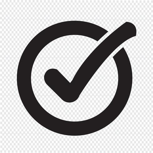 Icono de botón de lista de verificación
