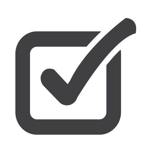 Verifique o ícone do botão de lista