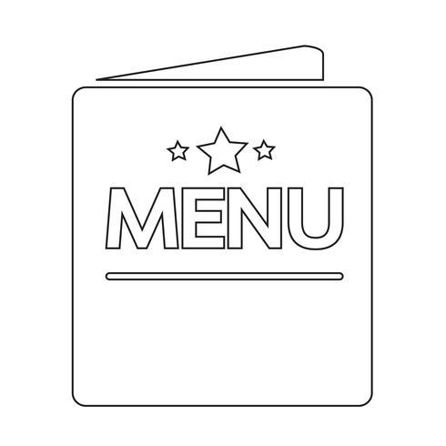 icono de menú símbolo signo