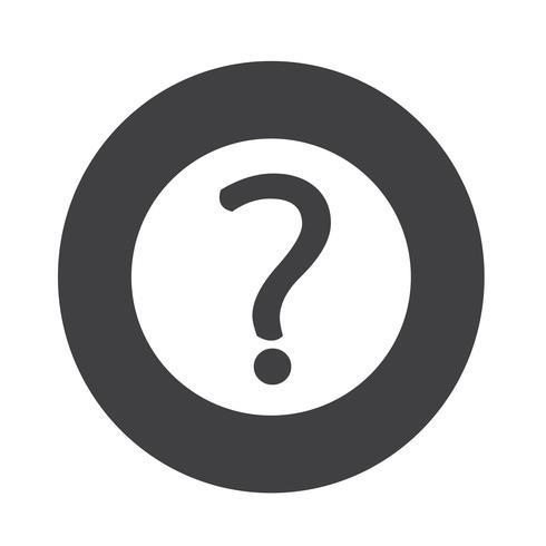 Icono de signo de interrogación