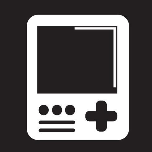 Ícone do console de jogos portáteis