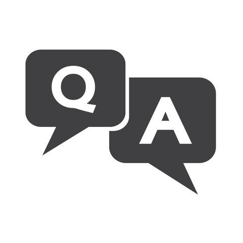 Icono de pregunta de respuesta