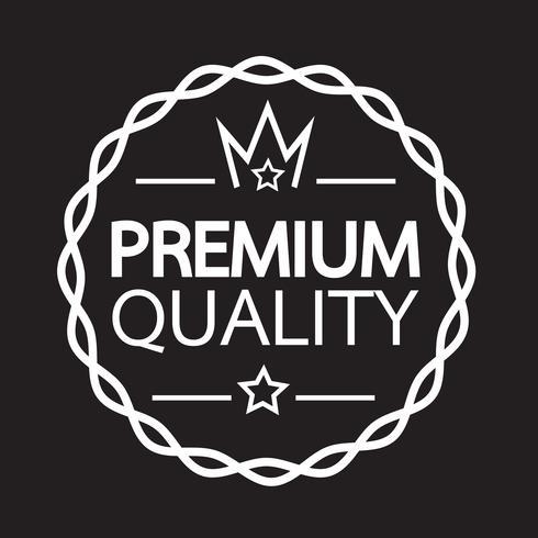 Premium Quality badge icon vector