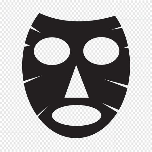 Icône de masque facial