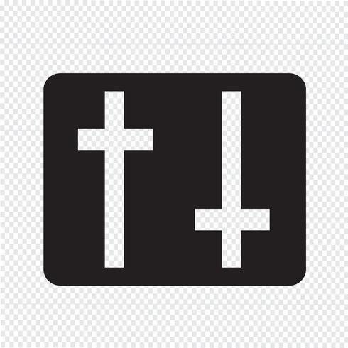 Inställningar ikon underteckna Illustration