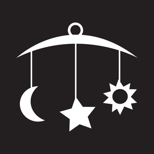 ícone de bebê pendurado