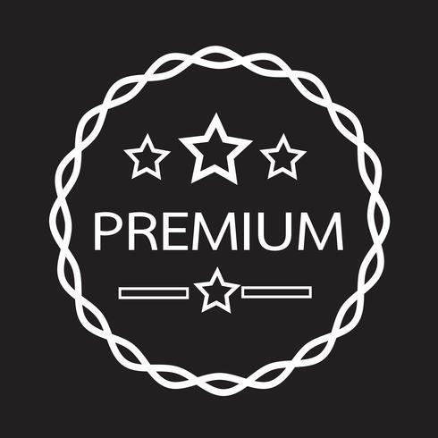 Vintage Premium Label-Symbol
