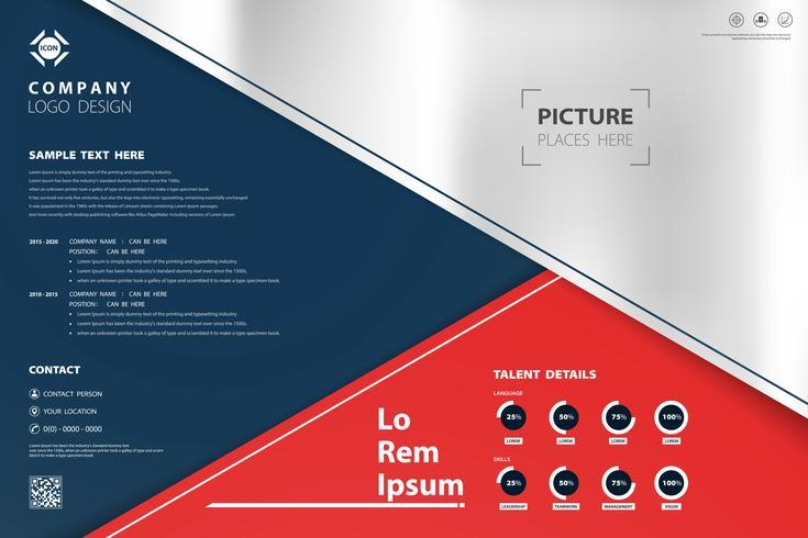 Abstract modern ontwerpkleurenmalplaatje van geometrische bedrijfsachtergrond. U kunt gebruiken voor presentatie, advertentie, poster, jaarverslag, afdrukken.