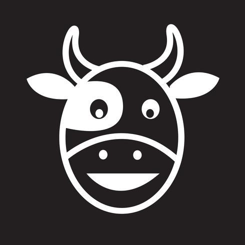 Icona testa di mucca