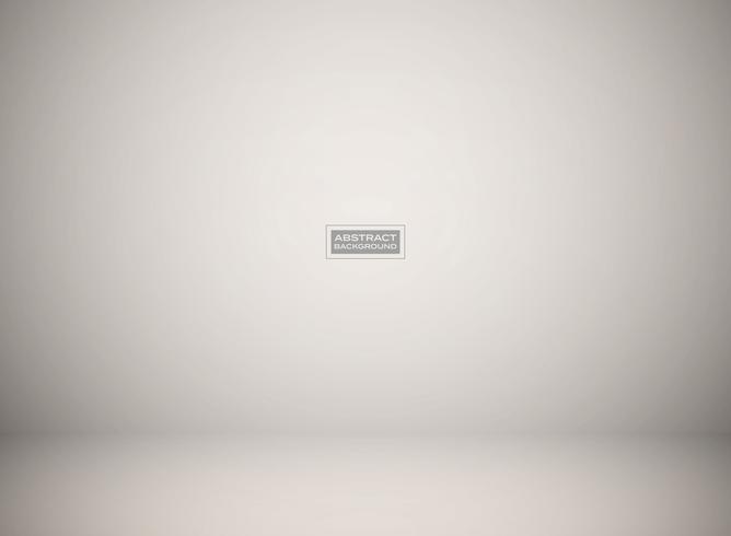 Fondo gris del estudio del gradiente abstracto para la presentación. Puede utilizar para la presentación del producto, anuncio, cartel, obra de arte. vector