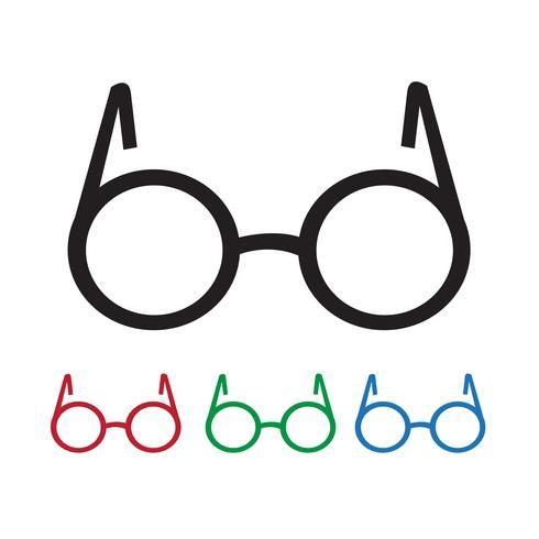 Icono de gafas símbolo de signo