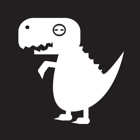 Tyrannosaurus dinosaur icon