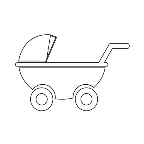 Icono de cochecitos de bebé.