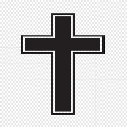 Religie kruis pictogram