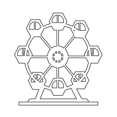 Reuzenrad pictogram
