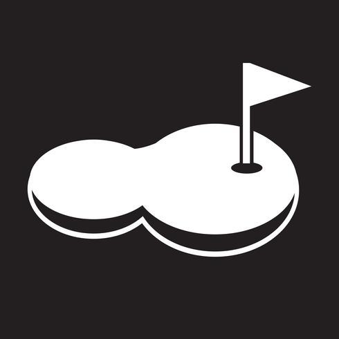 golfbanans ikon