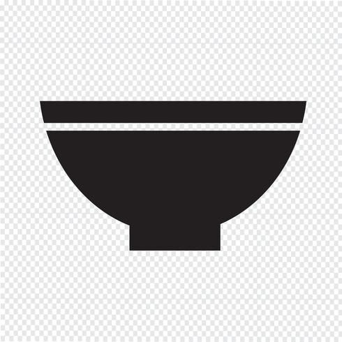 bowl icon  symbol sign