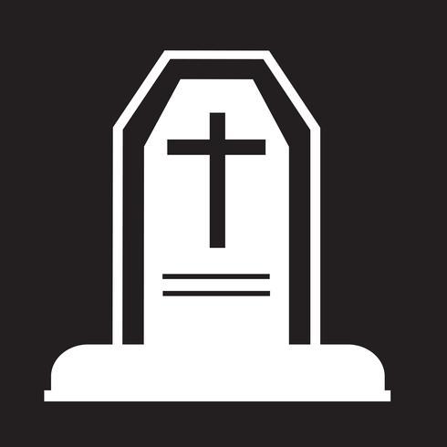icono de tumba de halloween