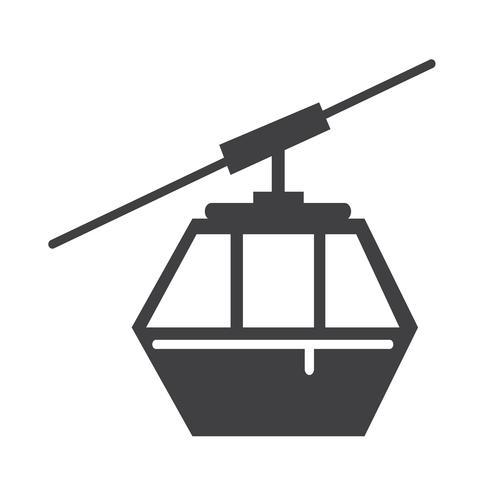 icono de cable símbolo signo