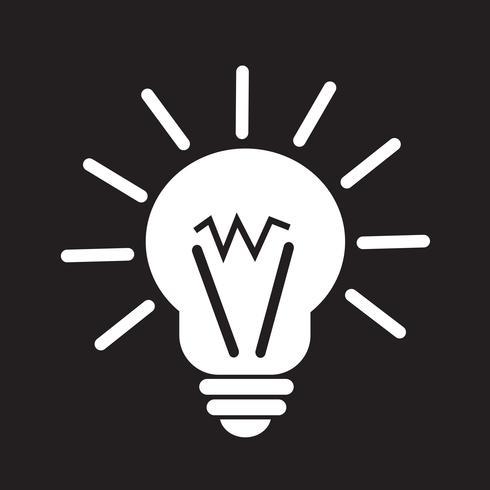 icono de idea de luz