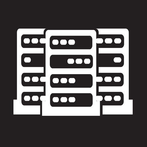 Icona del computer server