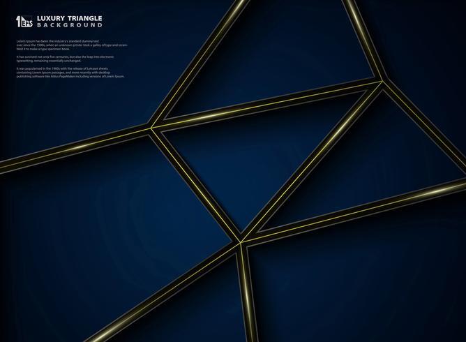 Diseño gráfico del modelo de lujo abstracto de fondo del negro de la pendiente.