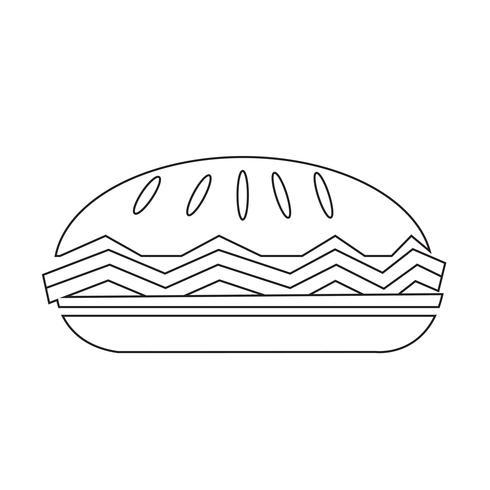 icona della torta di cibo