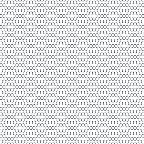 Abstract small hexagon pattern of technology design background. You can use for seamless design of tech ad, poster, artwork, print. vector