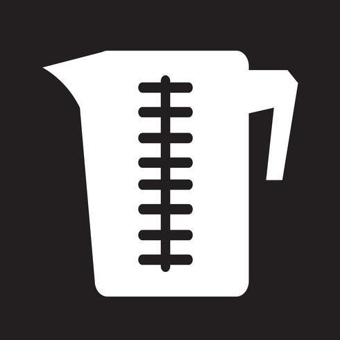 Icono de taza de medir