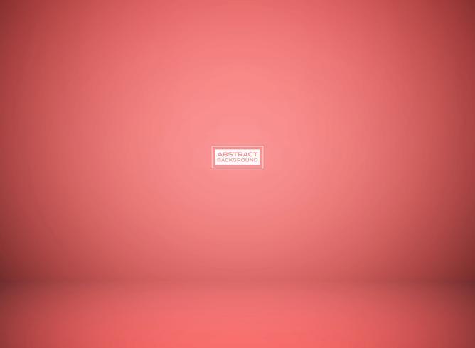 Fondo coralino vivo rojo del estudio 2019 del color de la pendiente abstracta para la presentación. Puede utilizar para la presentación del producto, anuncio, cartel, obra de arte. vector